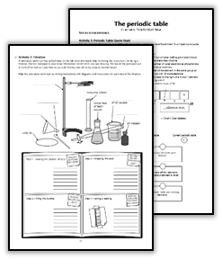 Homework Pack for GCSE AQA Chemistry Topics 1-5