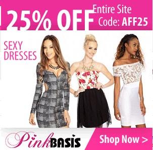 PinkBasis 25 % Off