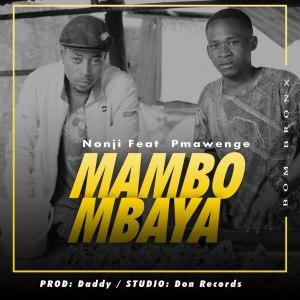 mambo mbaya by Nonji P mawenge cover image