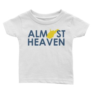 Almost Heaven Infant Tee