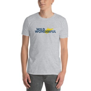 Wild Wonderful WV Short-Sleeve Unisex T-Shirt
