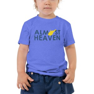 Almost Heaven Toddler Short Sleeve Tee