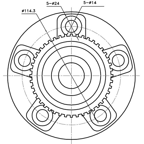 Z89126R — ZIKMAR — Wheel Hub — Zikmar