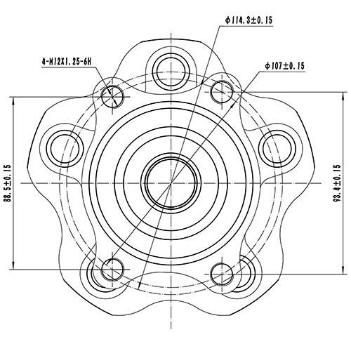 Z89154R — ZIKMAR — Wheel Hub — Zikmar