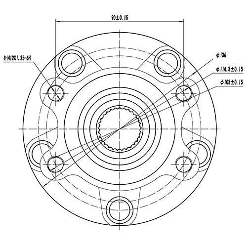 Z89156R — ZIKMAR — Wheel Hub — Zikmar