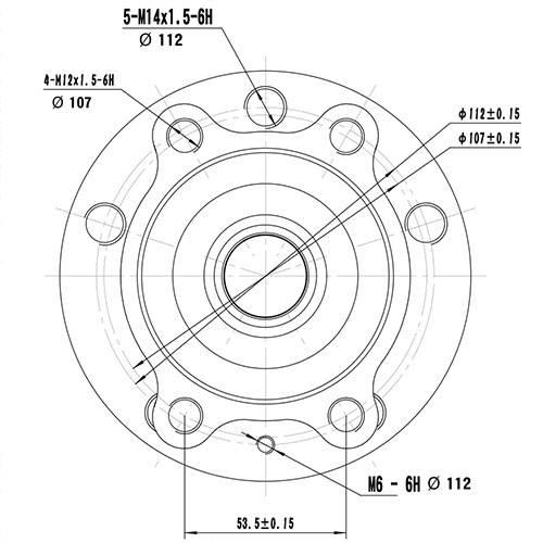 Z89172R — ZIKMAR — Wheel Hub — Zikmar