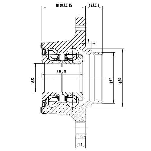 Z89174R — ZIKMAR — Wheel Hub — Zikmar