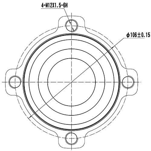Z89187R — ZIKMAR — Wheel Hub — Zikmar