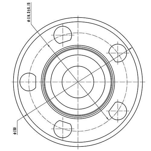 Z89199R — ZIKMAR — Wheel Hub — Zikmar