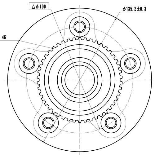 Z89205R — ZIKMAR — Wheel Hub — Zikmar