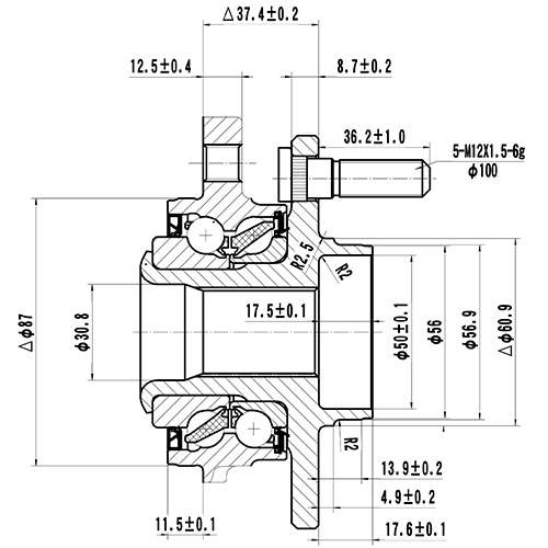 Z89222R — ZIKMAR — Wheel Hub — Zikmar
