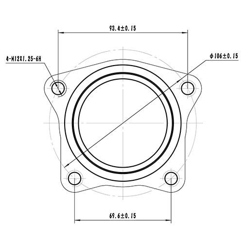 Z89223R — ZIKMAR — Wheel Hub — Zikmar