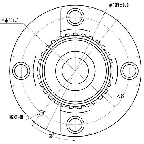 Z89249R — ZIKMAR — Wheel Hub — Zikmar