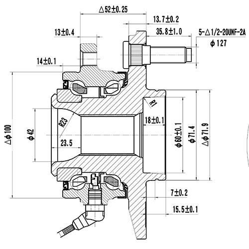 Z89262R — ZIKMAR — Wheel Hub — Zikmar
