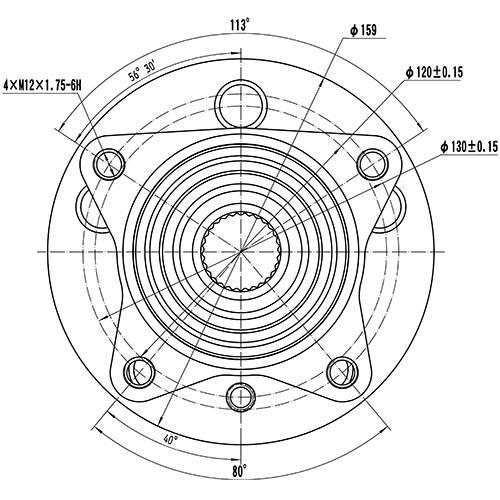 Z89267R — ZIKMAR — Wheel Hub — Zikmar