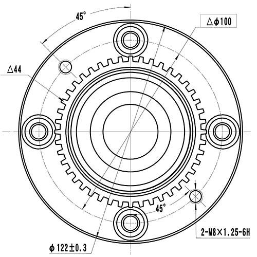 Z89273R — ZIKMAR — Wheel Hub — Zikmar