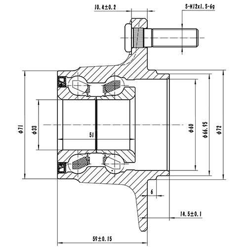 Z89275R — ZIKMAR — Wheel Hub — Zikmar