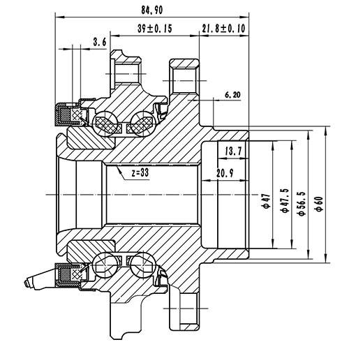 Z89293R — ZIKMAR — Wheel Hub — Zikmar