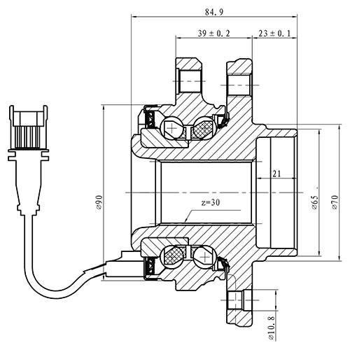 Z89300R — ZIKMAR — Wheel Hub — Zikmar