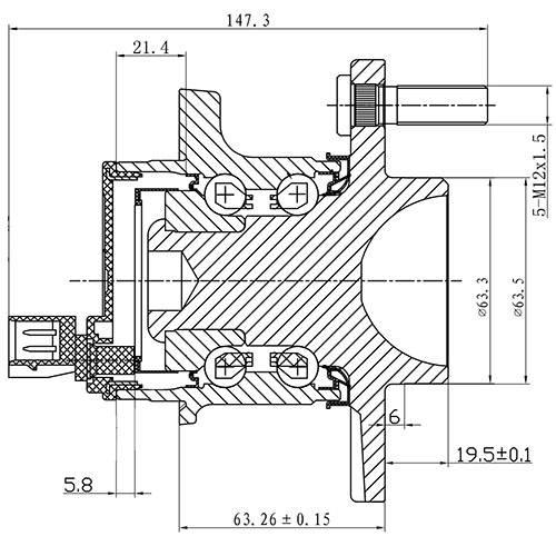 Z89327R — ZIKMAR — Wheel Hub — Zikmar