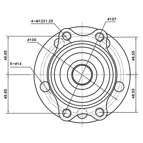 Z89351R — ZIKMAR — Wheel Hub — Zikmar