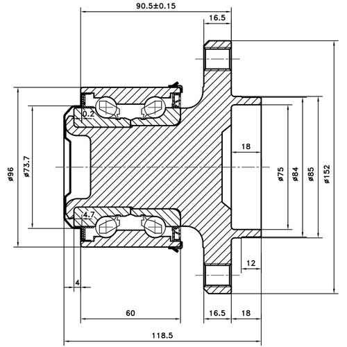 Z89363R — ZIKMAR — Wheel Hub — Zikmar