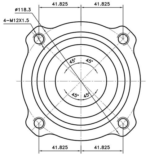 Z89401R — ZIKMAR — Wheel Hub — Zikmar