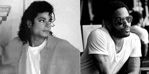 Michael Jackson & Lenny Kravitz
