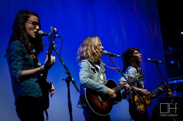 Theodore, Paul & Gabriel@ L'Olympia - Festival des Inrocks