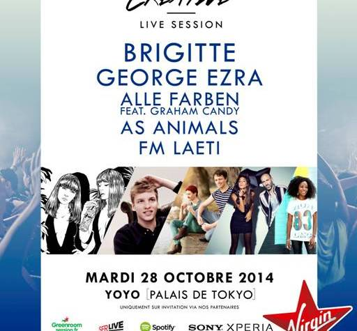 Gagne tes invitations pour la «Creative Live Session » au YOYO