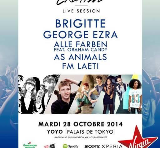 Gagne tes invitations pour la «Creative Live Session » au YOYO