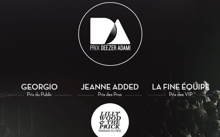 Deezer Adami 2015