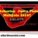Kelantan juara Piala Malaysia 2010.