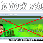 How to block website that are no need to surf!