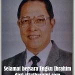 Engku Ibrahim, penyimpan mohor-mohor diraja Bersara hari ini, warrrghh!!