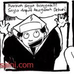 Kartun Malaysia: Markah saya memang banyak!