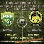 Keputusan terkini malaysia vs pakistan 2nd leg 2011!!
