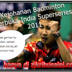 Lee Chong wei mara ke final terbuka india 2011