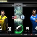 Chelsea menang tipis 1-0 keatas malaysia, drogba gol kontroversi