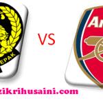 Malaysia kena bantai 4-0 bertemu arsenal (asia tour 2011)