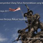 Selamat menyambut kemerdekaan kali ke 54, Merdeka Raya!!