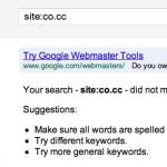 Domain co.cc kembali ke search engine setelah 6 bulan di banned
