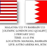 Keputusan terkini malaysia U23 VS Bahrain U23 [2nd leg]  2012