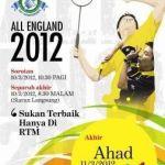 Keputusan terkini Final All England 2012, Lee Chong Wei VS Lindan!!
