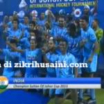 Malaysia Tewas 3-0 dengan India, akhir Kejohanan Hoki Piala Sultan Johor 2013