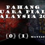Pahang Juara piala Malaysia 2013!!