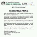 Kenyataan dari jabatan metrologi malaysia bakal ada salji ??