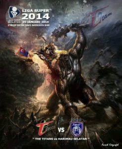 jdt vs t-team, jdt 0-1 t-team 2014