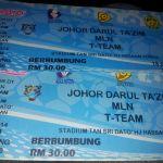 Keputusan terkini Jdt vs t-team 18.04.2014