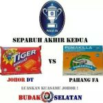 Jdt vs pahang 2nd leg semi final piala fa 30 mei 2014